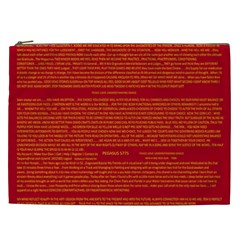 Mrtacpans Writing Grace Cosmetic Bag (xxl)