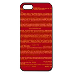 Mrtacpans Writing Grace Apple Iphone 5 Seamless Case (black)
