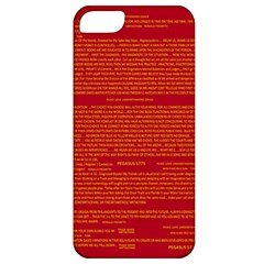 Mrtacpans Writing Grace Apple Iphone 5 Classic Hardshell Case