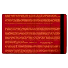 Mrtacpans Writing Grace Apple Ipad 3/4 Flip Case