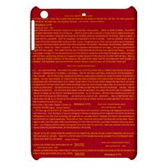 Mrtacpans Writing Grace Apple Ipad Mini Hardshell Case