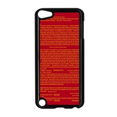 Mrtacpans Writing Grace Apple Ipod Touch 5 Case (black)