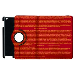 Mrtacpans Writing Grace Apple Ipad 2 Flip 360 Case
