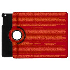 Mrtacpans Writing Grace Apple Ipad Mini Flip 360 Case