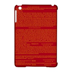Mrtacpans Writing Grace Apple Ipad Mini Hardshell Case (compatible With Smart Cover)