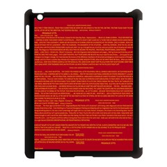Mrtacpans Writing Grace Apple Ipad 3/4 Case (black)