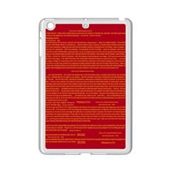 Mrtacpans Writing Grace Ipad Mini 2 Enamel Coated Cases