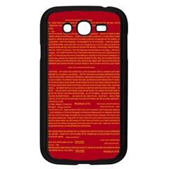 Mrtacpans Writing Grace Samsung Galaxy Grand Duos I9082 Case (black)
