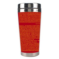 Mrtacpans Writing Grace Stainless Steel Travel Tumblers