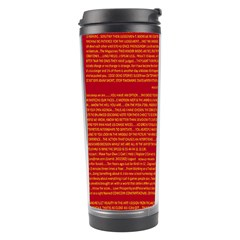 Mrtacpans Writing Grace Travel Tumbler