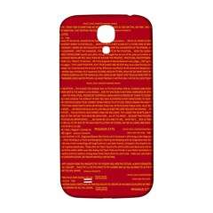 Mrtacpans Writing Grace Samsung Galaxy S4 I9500/i9505  Hardshell Back Case