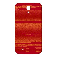 Mrtacpans Writing Grace Samsung Galaxy Mega I9200 Hardshell Back Case