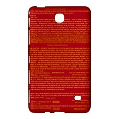 Mrtacpans Writing Grace Samsung Galaxy Tab 4 (8 ) Hardshell Case