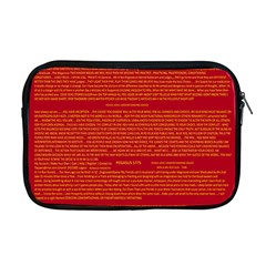 Mrtacpans Writing Grace Apple Macbook Pro 17  Zipper Case