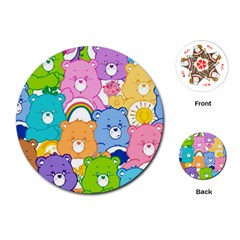 Care Bears Playing Cards (round)