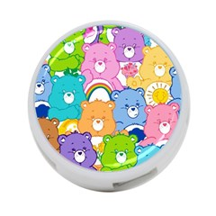 Care Bears 4 Port Usb Hub (two Sides)