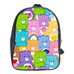 Care Bears School Bag (xl)