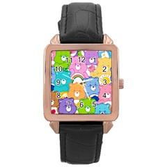 Care Bears Rose Gold Leather Watch