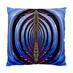 Illustration Robot Wave Rainbow Standard Cushion Case (one Side)