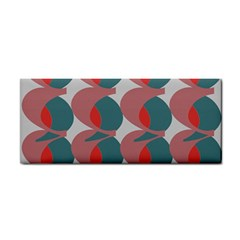Pink Red Grey Three Art Cosmetic Storage Cases