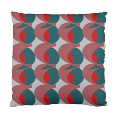 Pink Red Grey Three Art Standard Cushion Case (two Sides)