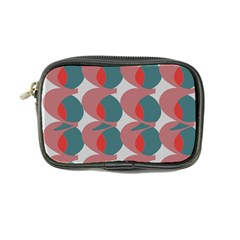 Pink Red Grey Three Art Coin Purse