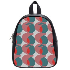 Pink Red Grey Three Art School Bag (small)