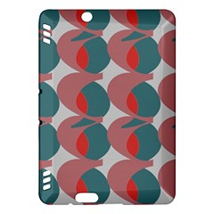 Pink Red Grey Three Art Kindle Fire Hdx Hardshell Case