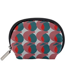 Pink Red Grey Three Art Accessory Pouches (small)