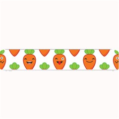 Seamless Background Carrots Emotions Illustration Face Smile Cry Cute Orange Small Bar Mats