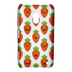 Seamless Background Carrots Emotions Illustration Face Smile Cry Cute Orange Nokia Lumia 620