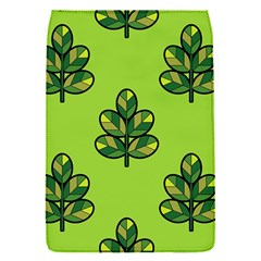 Seamless Background Green Leaves Black Outline Flap Covers (s)