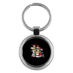 Back To School Key Chains (round)