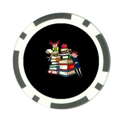 Back To School Poker Chip Card Guard (10 Pack)