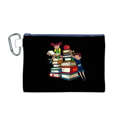Back To School Canvas Cosmetic Bag (m)