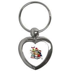 Back To School Key Chains (heart)