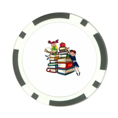 Back To School Poker Chip Card Guard