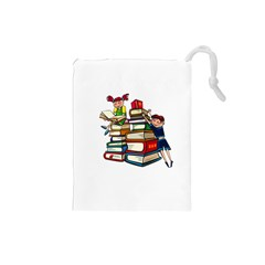Back To School Drawstring Pouches (small)