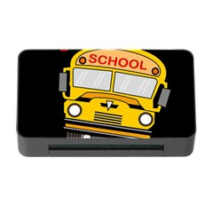 Back To School   School Bus Memory Card Reader With Cf