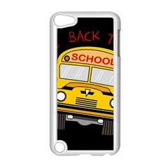 Back To School   School Bus Apple Ipod Touch 5 Case (white)