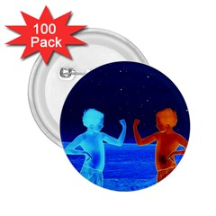 Space Boys  2 25  Buttons (100 Pack)