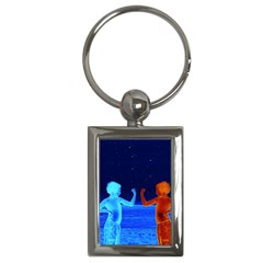 Space Boys  Key Chains (rectangle)