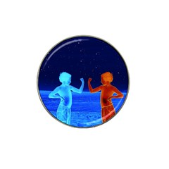 Space Boys  Hat Clip Ball Marker (4 Pack)