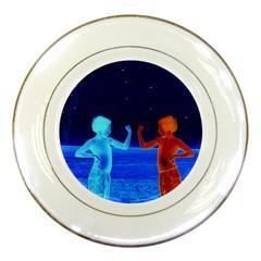Space Boys  Porcelain Plates