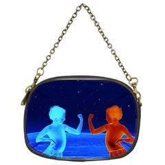 Space Boys  Chain Purses (two Sides)