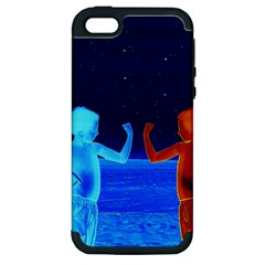 Space Boys  Apple Iphone 5 Hardshell Case (pc+silicone)