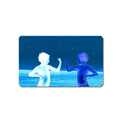 Space Boys  Magnet (name Card)