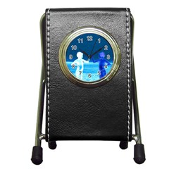 Space Boys  Pen Holder Desk Clocks
