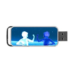 Space Boys  Portable Usb Flash (two Sides)