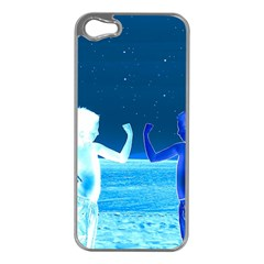 Space Boys  Apple Iphone 5 Case (silver)